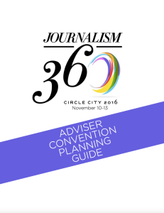 """Download the local committee's """"Adviser Convention Planning Guide"""" with tips on getting around and enjoying Indianapolis."""